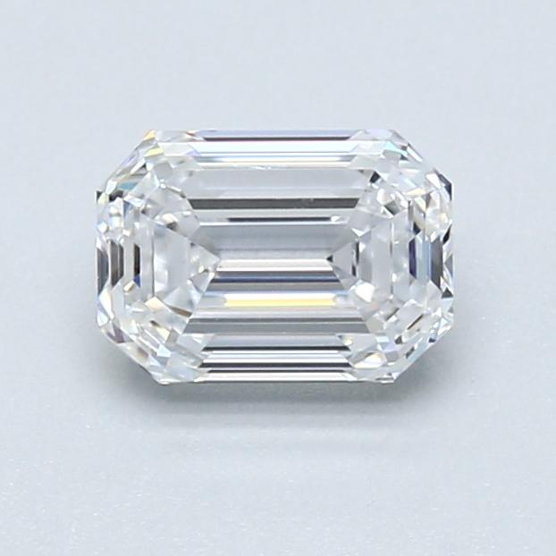 1.01 ct Emerald Cut Diamond : D / VVS2