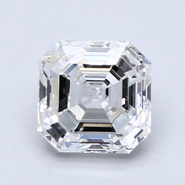 1.51 ct Asscher Cut Diamond : D / VVS2