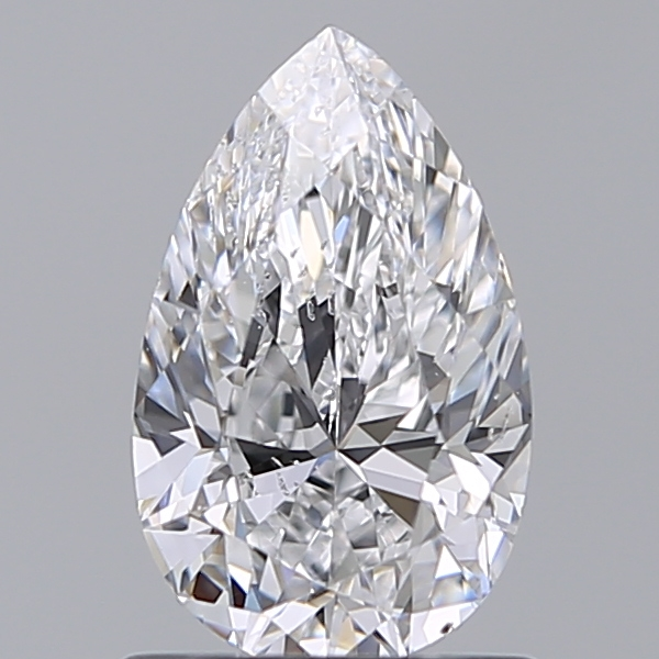 0.96 ct Pear Shape Diamond : D / SI1