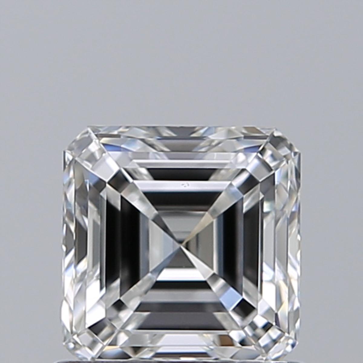 0.81 ct Asscher Cut Diamond : E / VS1