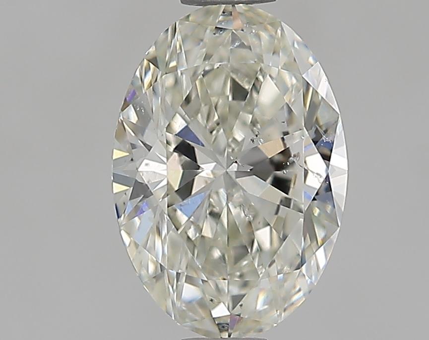 1.01 ct Oval Diamond : J / SI2