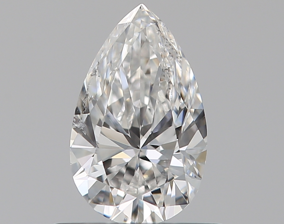 0.50 ct Pear Shape Diamond : E / SI2