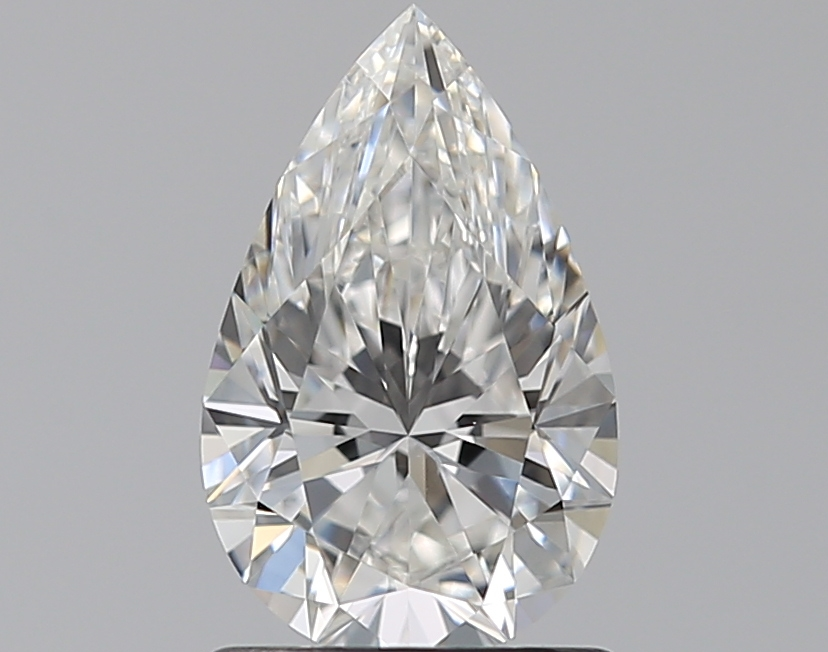 1.01 ct Pear Shape Diamond : F / VS1