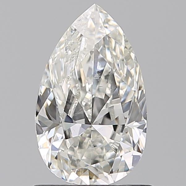 0.96 ct Pear Shape Diamond : H / SI1