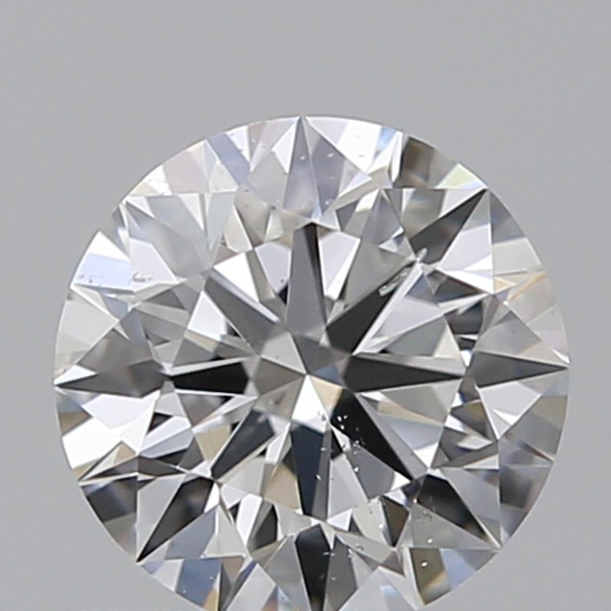 0.65 ct Round Diamond : F / SI1