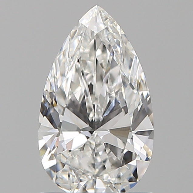 1.00 ct Pear Shape Diamond : F / VVS2