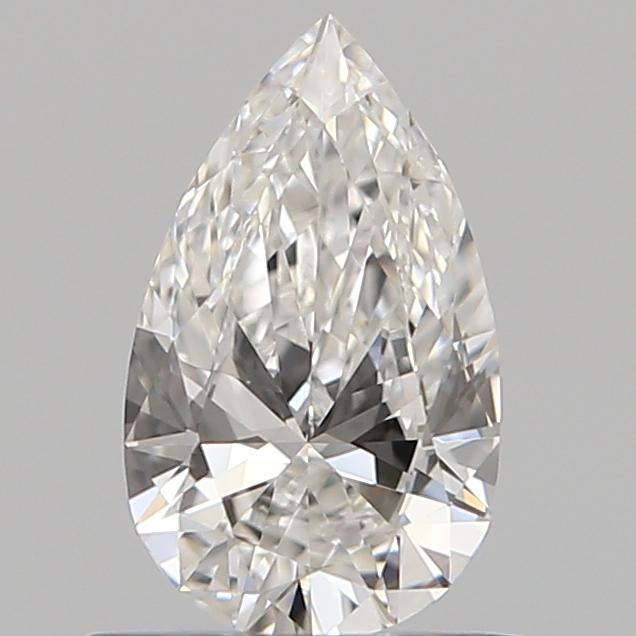0.59 ct Pear Shape Diamond : F / VS2