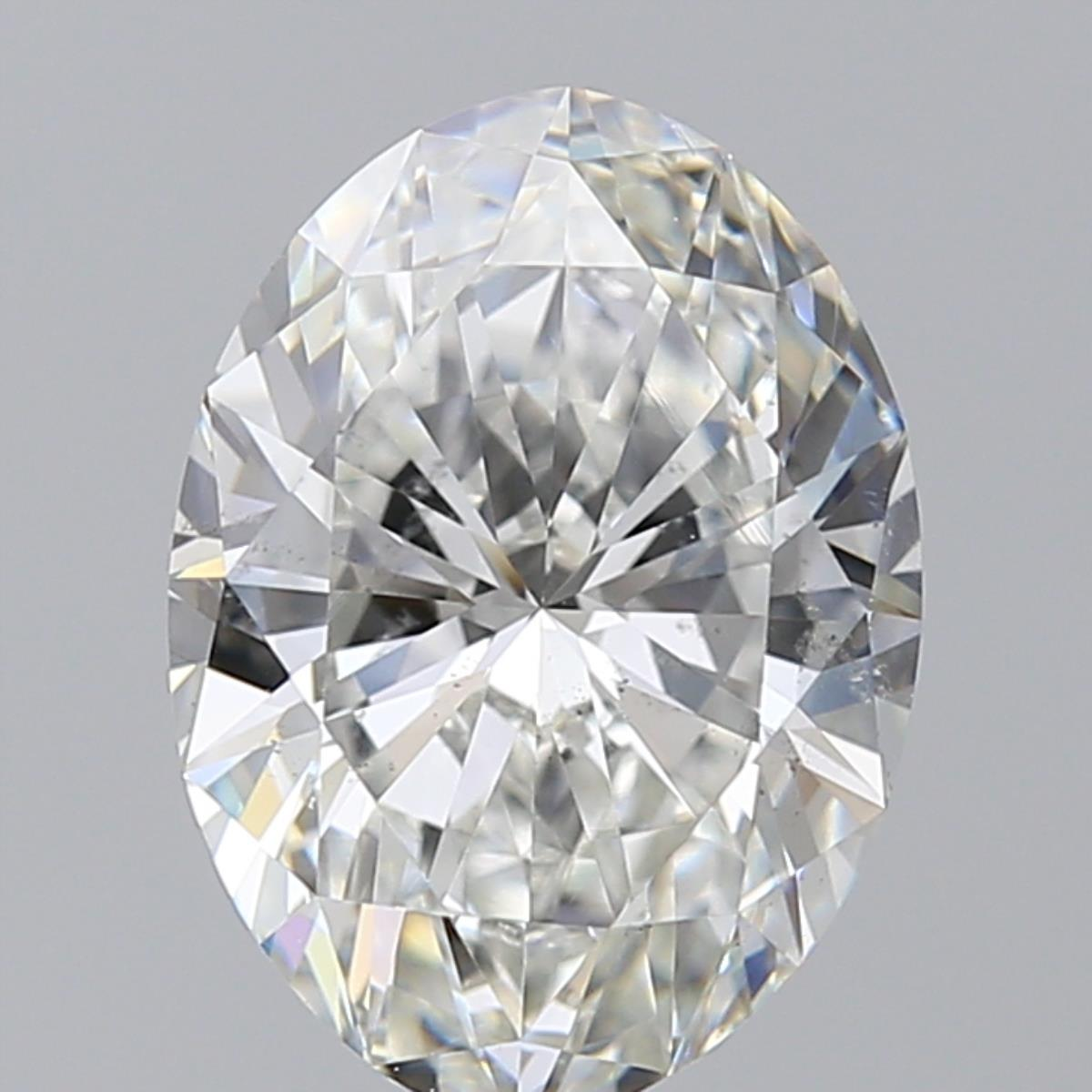 2.52 ct Oval Diamond : G / SI1