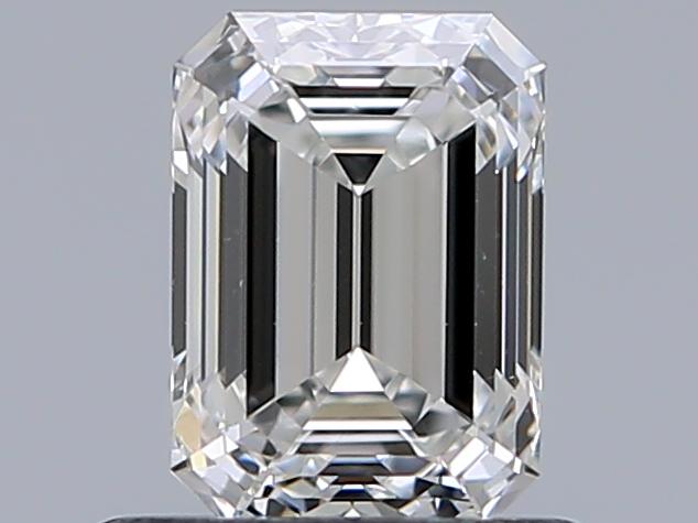 0.70 ct Emerald Cut Diamond : F / VVS2