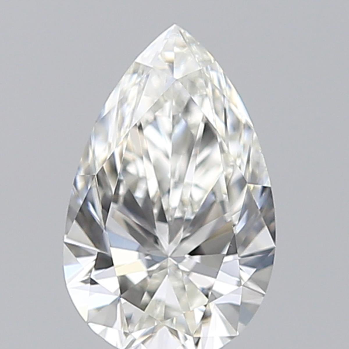 0.72 ct Pear Shape Diamond : H / VVS1