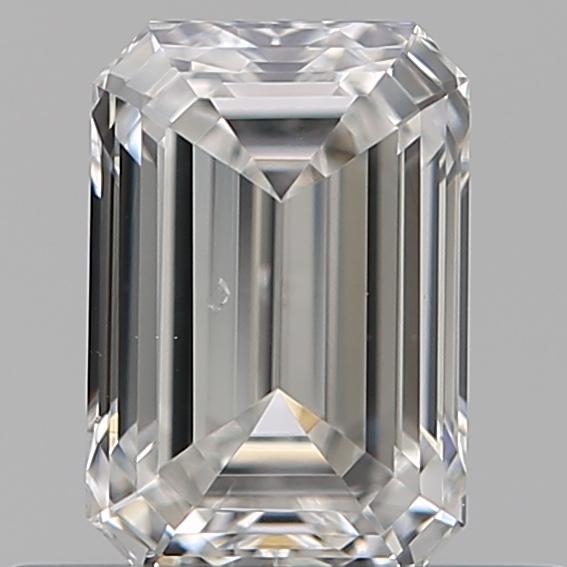 0.51 ct Emerald Cut Diamond : F / SI1
