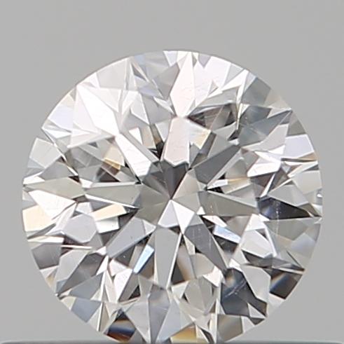 0.40 ct Round Diamond : D / SI2