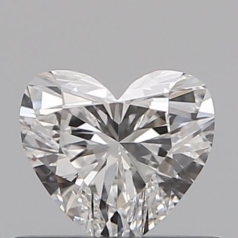 0.40 ct Heart Shape Diamond : F / VS1