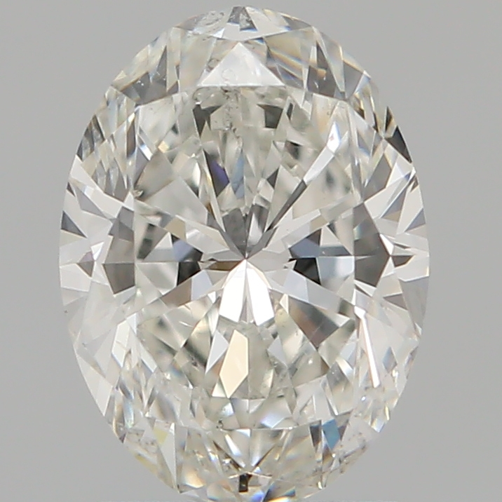 1.51 ct Oval Diamond : H / SI1