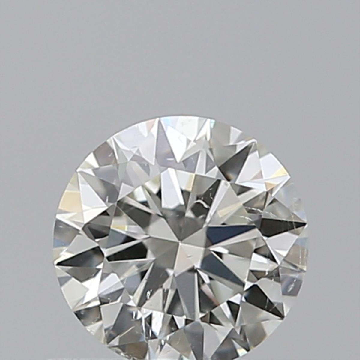 0.50 ct Round Diamond : J / SI2