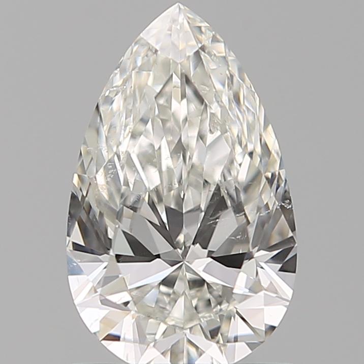 0.90 ct Pear Shape Diamond : H / SI1