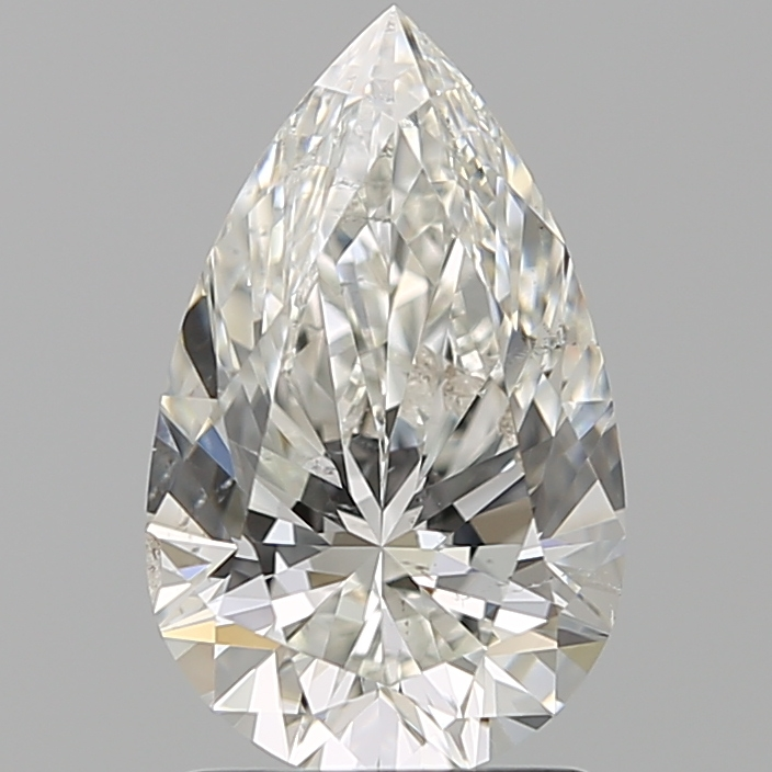 1.60 ct Pear Shape Diamond : H / SI1