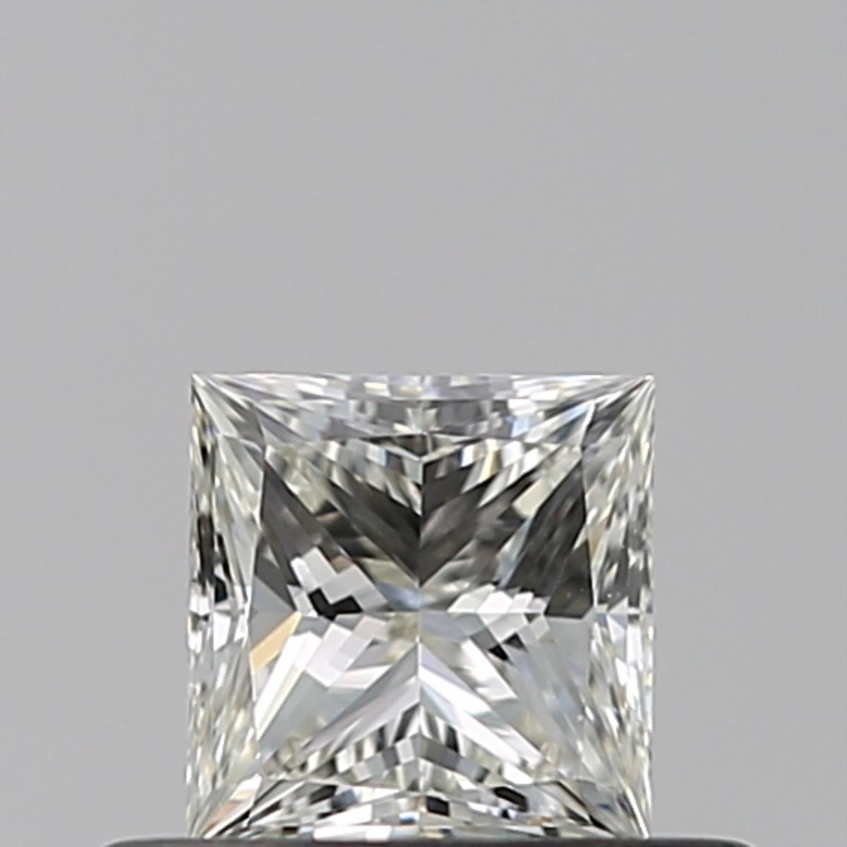 0.40 ct Princess Cut Diamond : J / VVS2