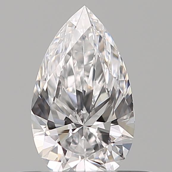 0.38 ct Pear Shape Diamond : D / VS1