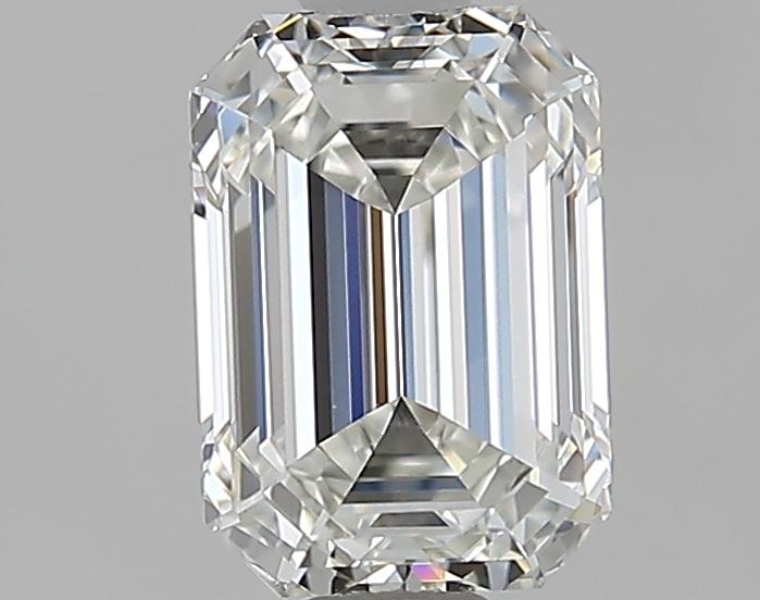 1.51 ct Emerald Cut Diamond : H / VVS2