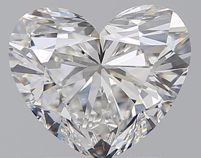 1.70 ct Heart Shape Diamond : G / VS1