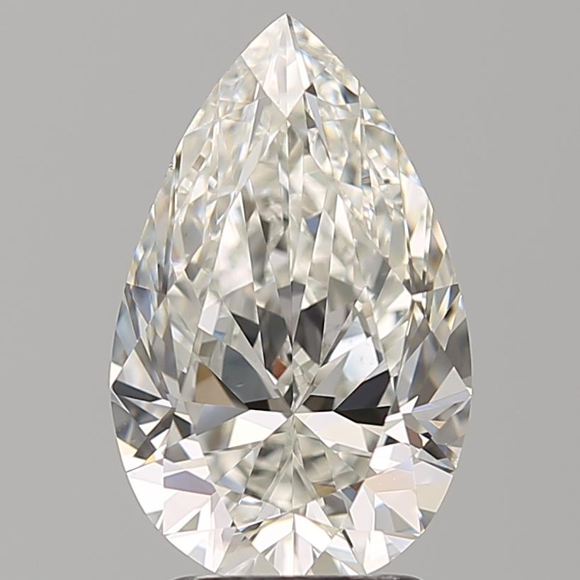 3.00 ct Pear Shape Diamond : H / VS1