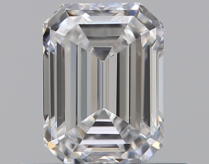 0.47 ct Emerald Cut Diamond : D / VVS2