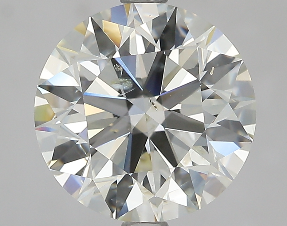 3.20 ct Round Diamond : K / SI2