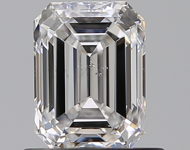 0.70 ct Emerald Cut Diamond : E / SI1