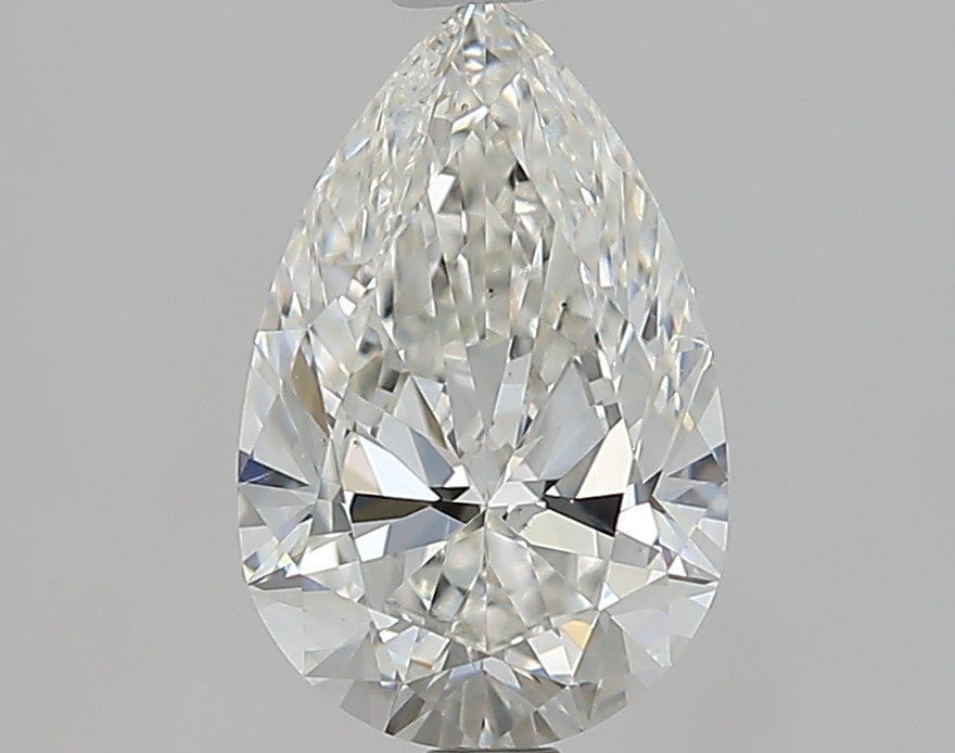 1.60 ct Pear Shape Diamond : H / SI1