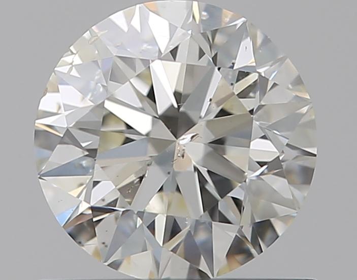 0.59 ct Round Diamond : J / SI2