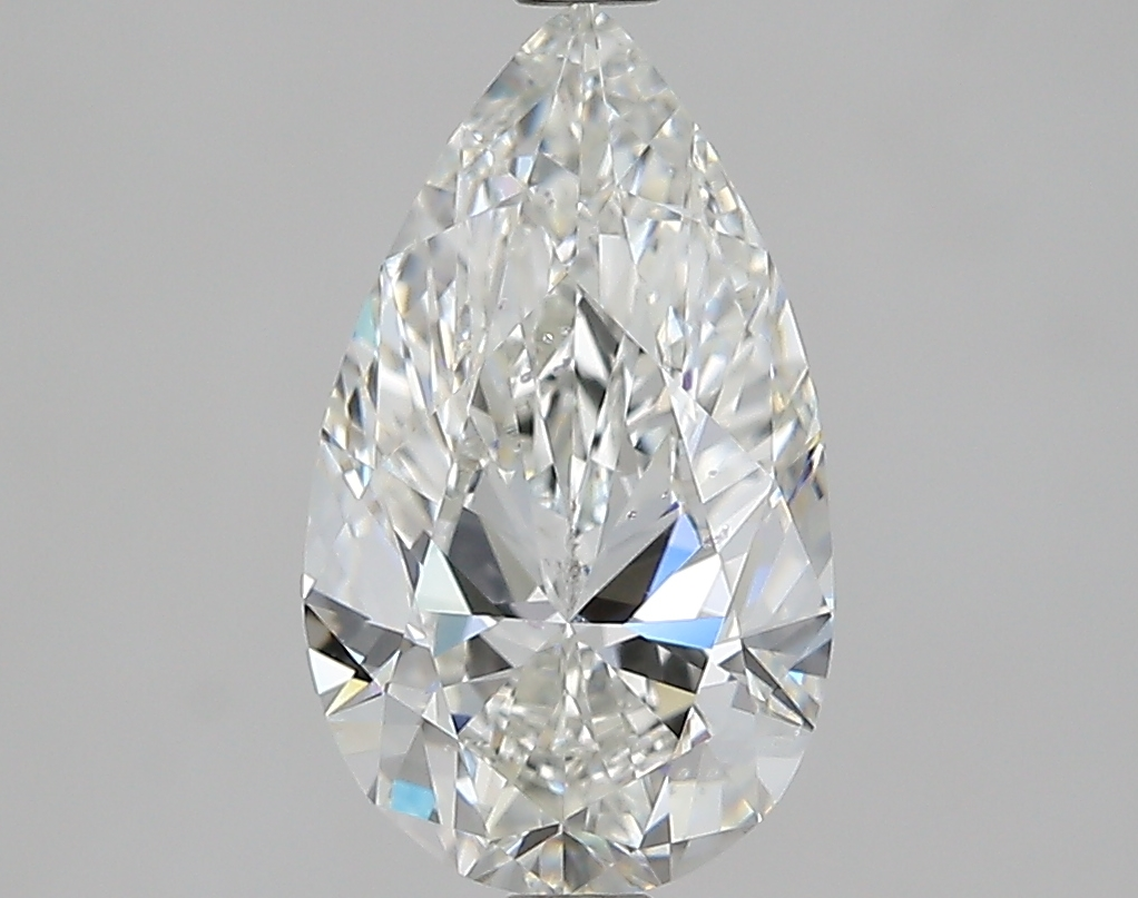2.02 ct Pear Shape Diamond : H / SI1