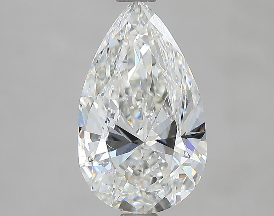 2.01 ct Pear Shape Diamond : G / SI1