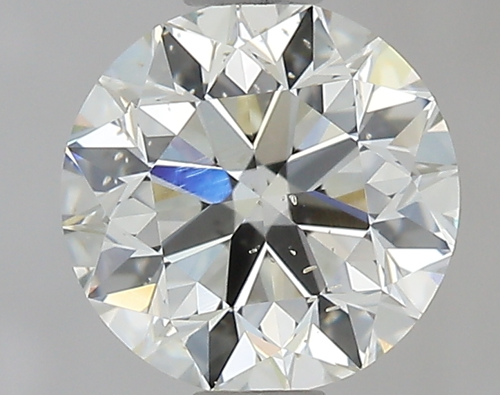 0.90 ct Round Diamond : L / SI1