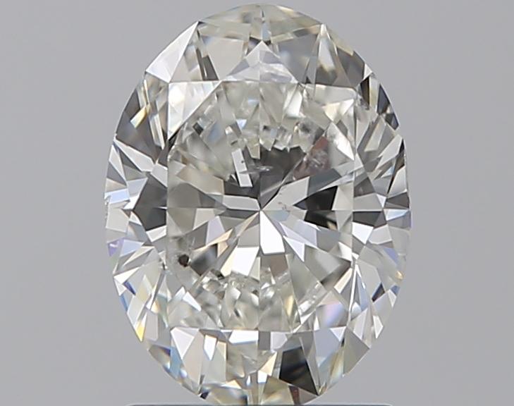 1.29 ct Oval Diamond : H / SI2