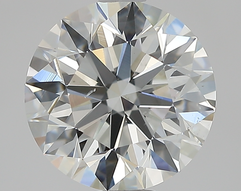 2.02 ct Round Diamond : H / SI1