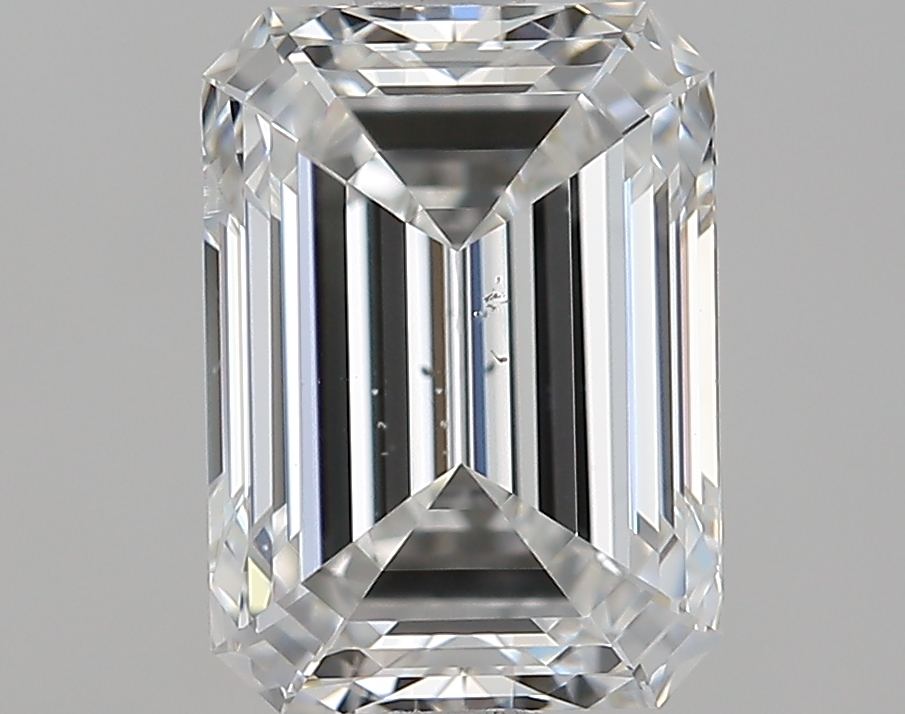 2.00 ct Emerald Cut Diamond : F / SI1