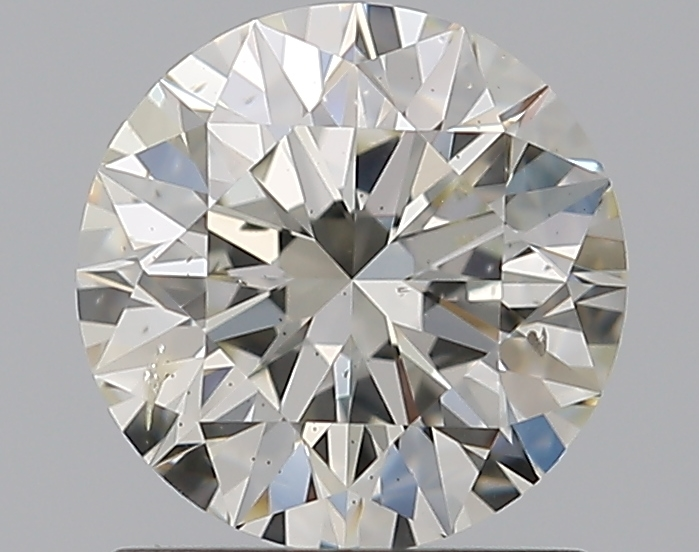 1.01 ct Round Diamond : J / SI2