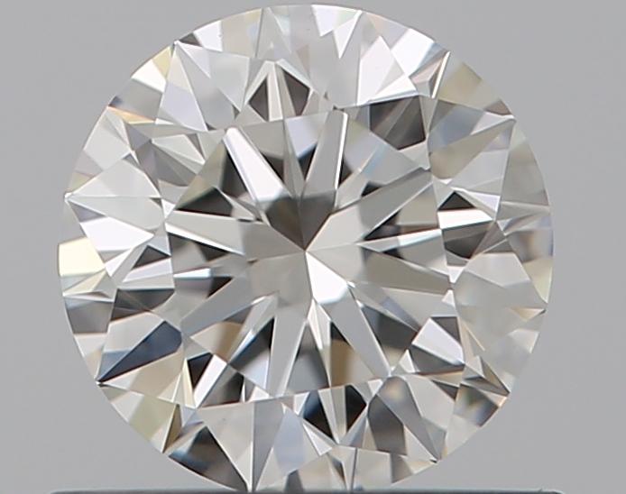 0.51 ct Round Diamond : H / IF