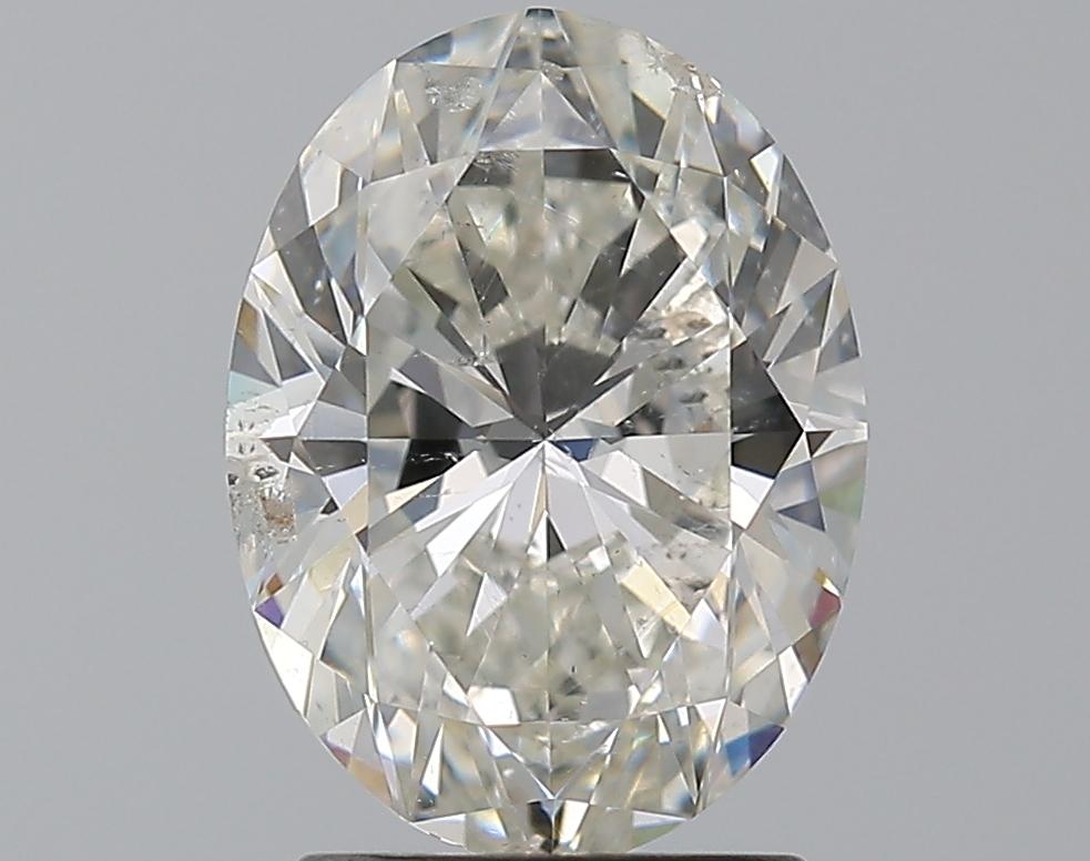 1.79 ct Oval Diamond : I / SI2