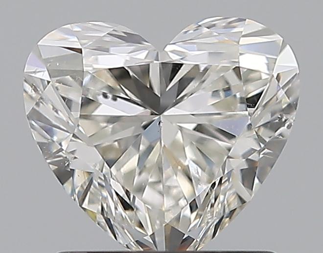 1.01 ct Heart Shape Diamond : I / SI2
