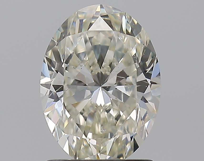 1.30 ct Oval Diamond : J / SI1