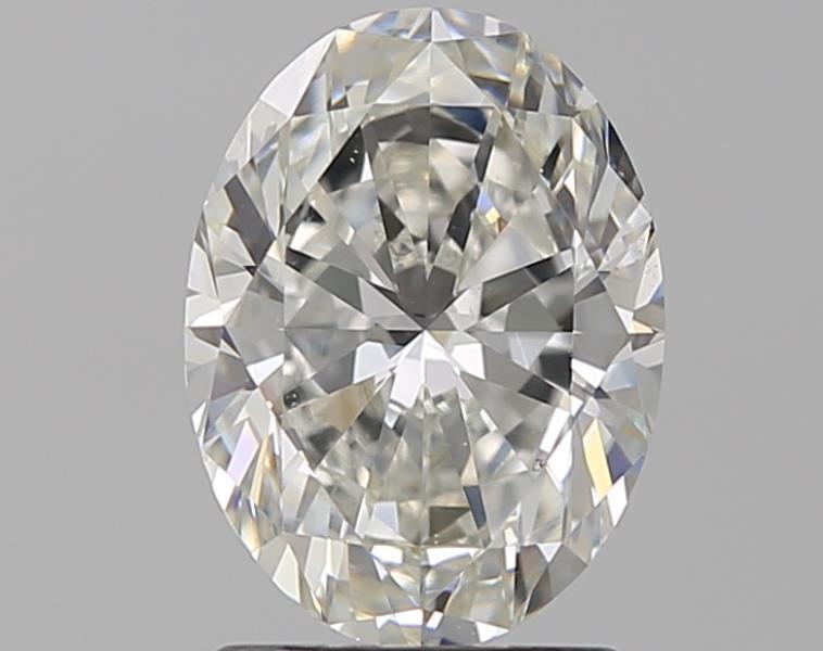 1.50 ct Oval Diamond : H / SI1