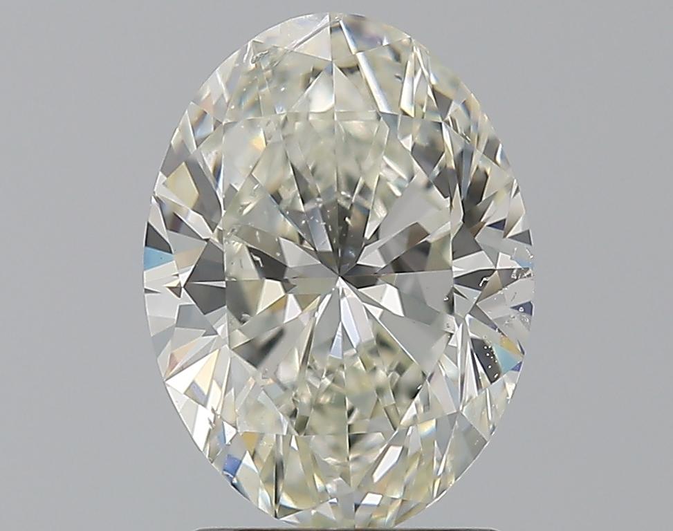 1.71 ct Oval Diamond : J / SI2