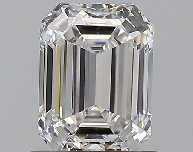 0.90 ct Emerald Cut Diamond : D / VS2