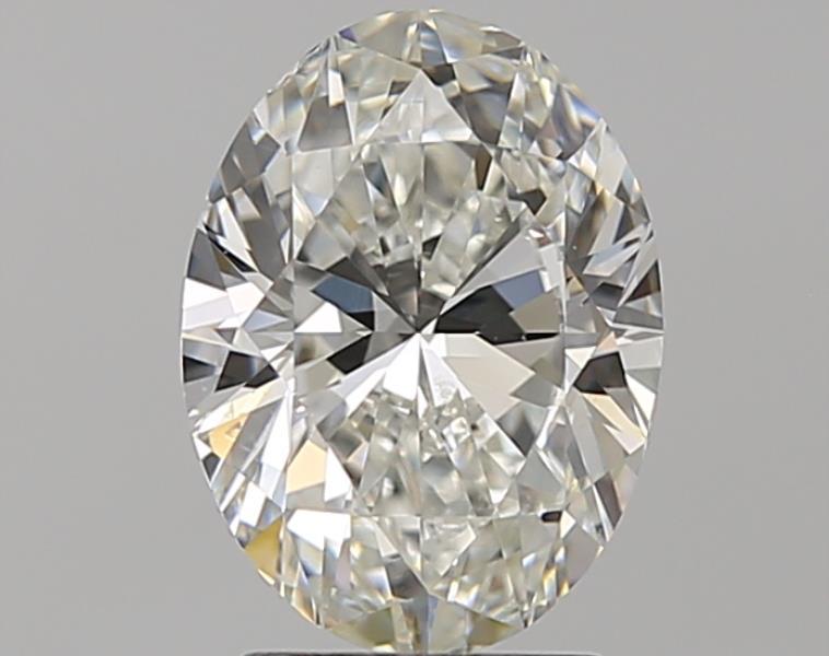 2.00 ct Oval Diamond : H / SI1
