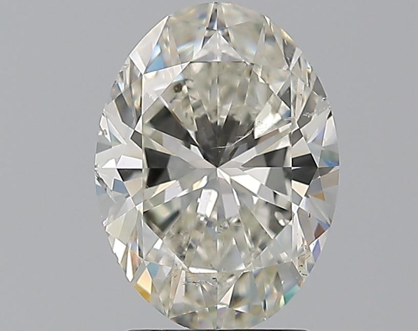 2.00 ct Oval Diamond : J / SI1