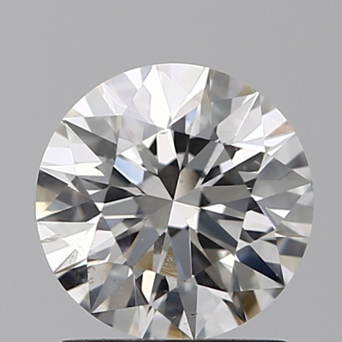 1.06 ct Round Diamond : H / SI1