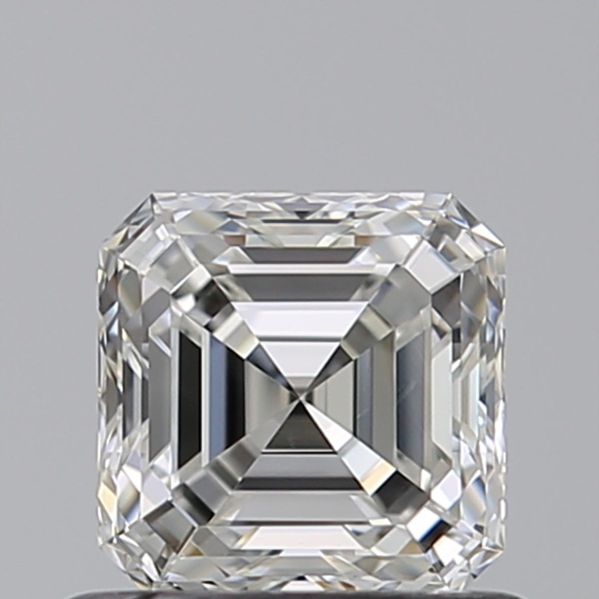 0.70 ct Asscher Cut Diamond : H / VVS2