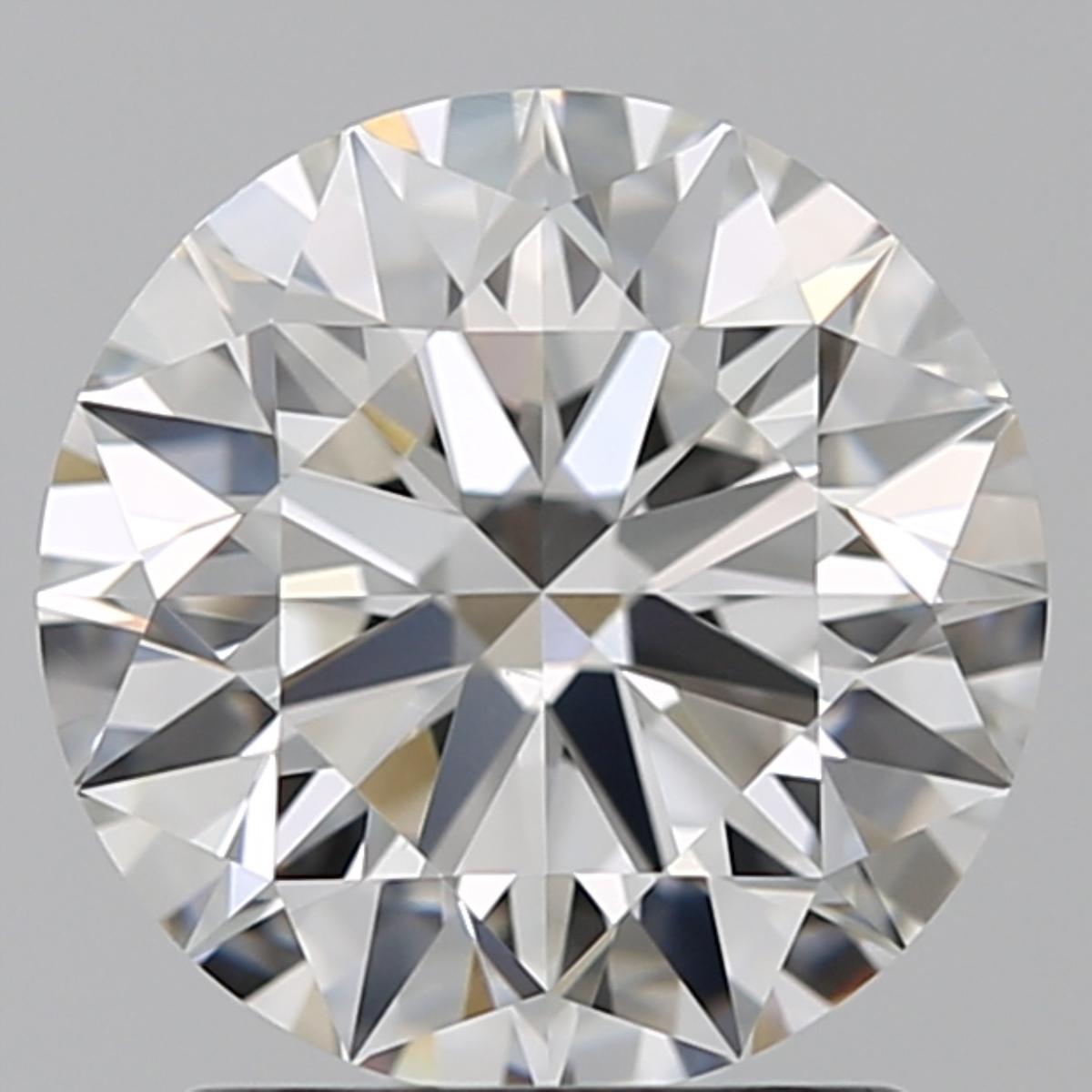 1.70 ct Round Diamond : F / VS2
